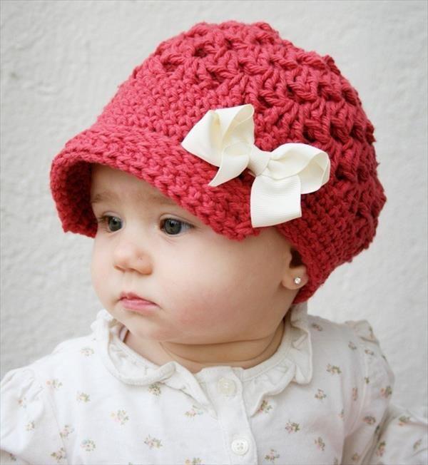 Crochet baby hats – pass it through generation