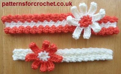 crochet baby headbands 2 baby headbands · free crochet ... LBYYUWN