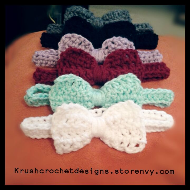 crochet baby headbands. #crochet #baby #babyheadbands #infantphotoprops XKEMXZP