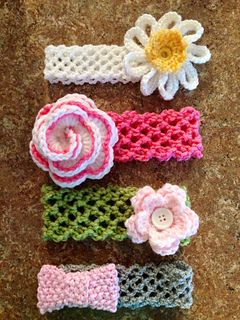 crochet baby headbands the genius headband tutorial ♡ teresa restegui http://www.pinterest.com. crochet  baby headbandscrochet headband patterncrochet ... CRMYLFK