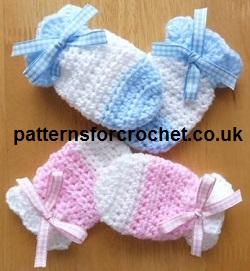 crochet baby mittens blankets KYWVYXD