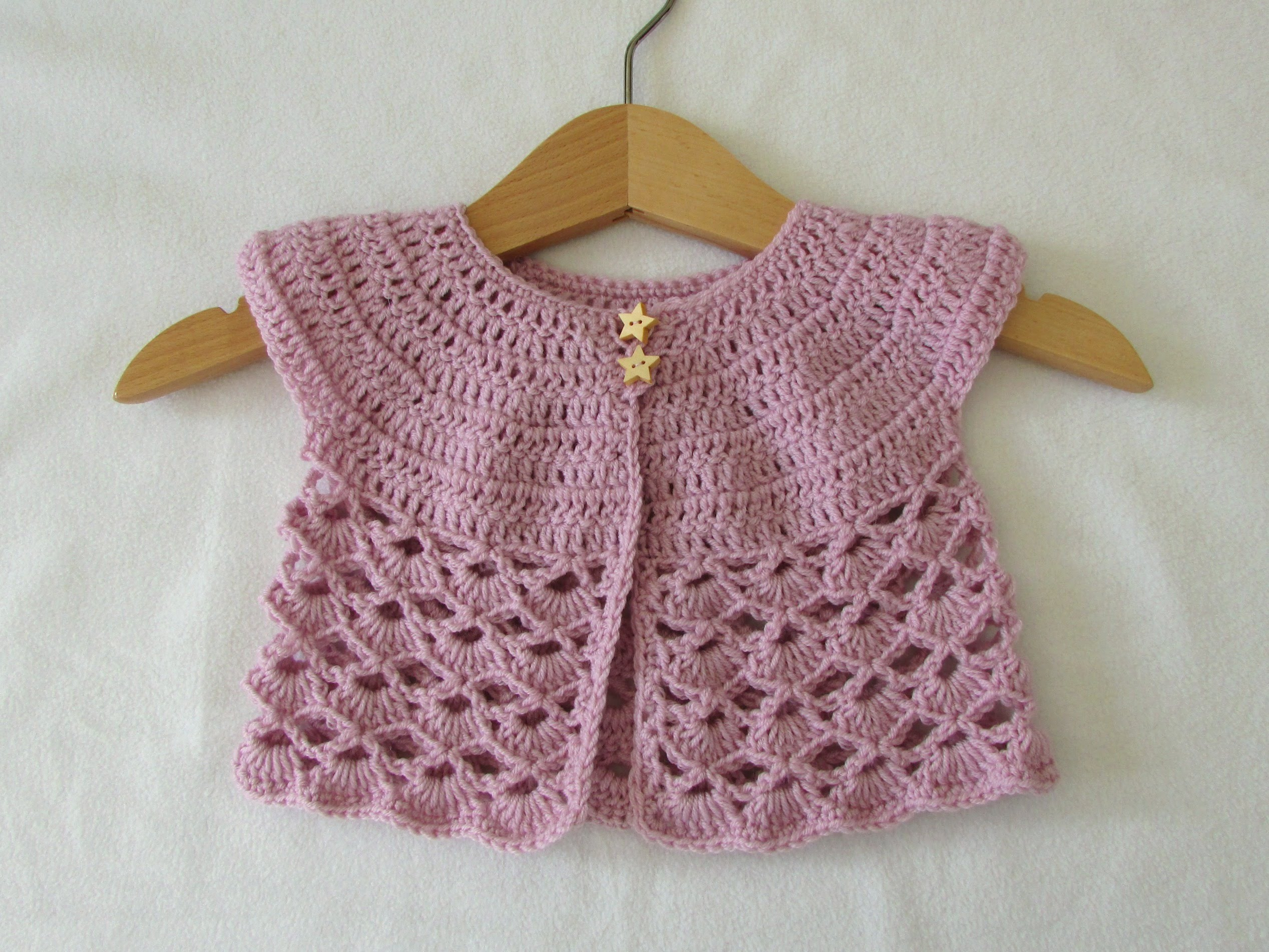 crochet baby sweater how to crochet an easy lace baby cardigan / sweater - youtube NBSQGRU