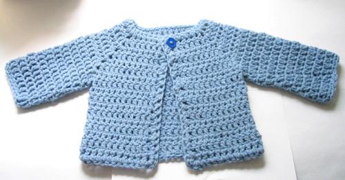 crochet baby sweater ravelry: crocheted baby sweater pattern by beth koskie RZMEHDF