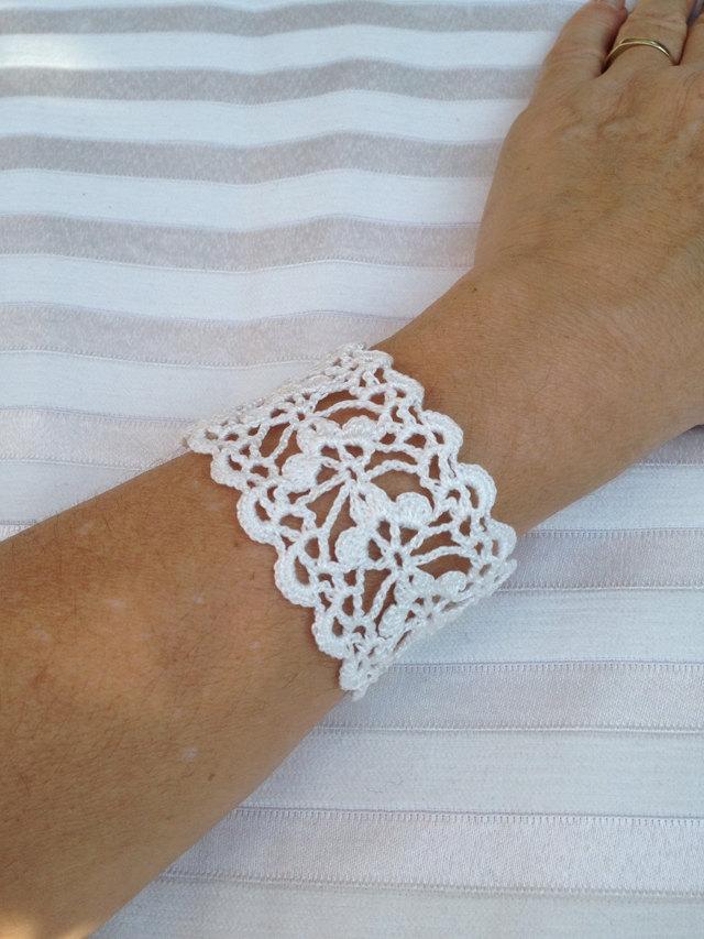 crochet bracelet pattern crochet cuff bracelet PHKEZWB