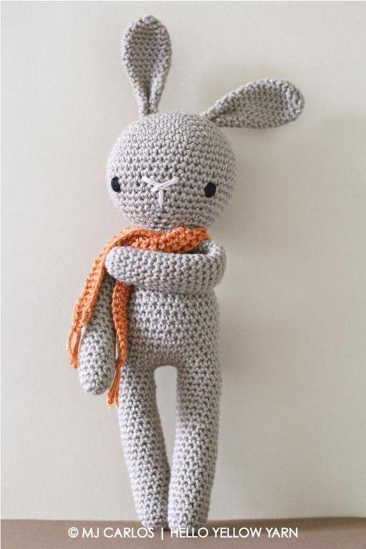 crochet bunny pattern crochet amigurumi bunny pattern FOBLOAO