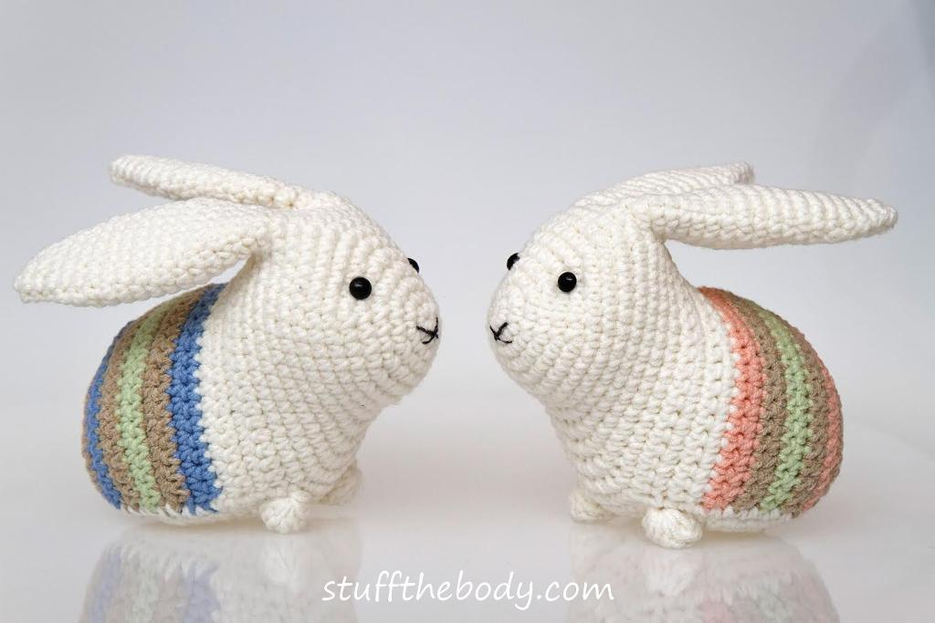 Amigurumi Pattern Crochet - Bunny Couple - | 683x1024