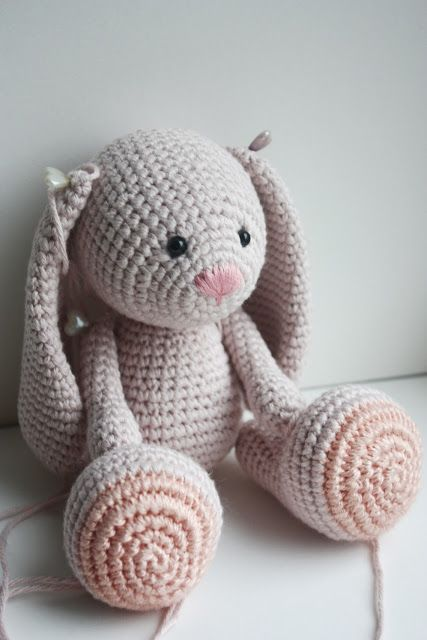 crochet bunny pattern lovely bunny pattern: https://www.etsy.com/shop/ OIADEJZ