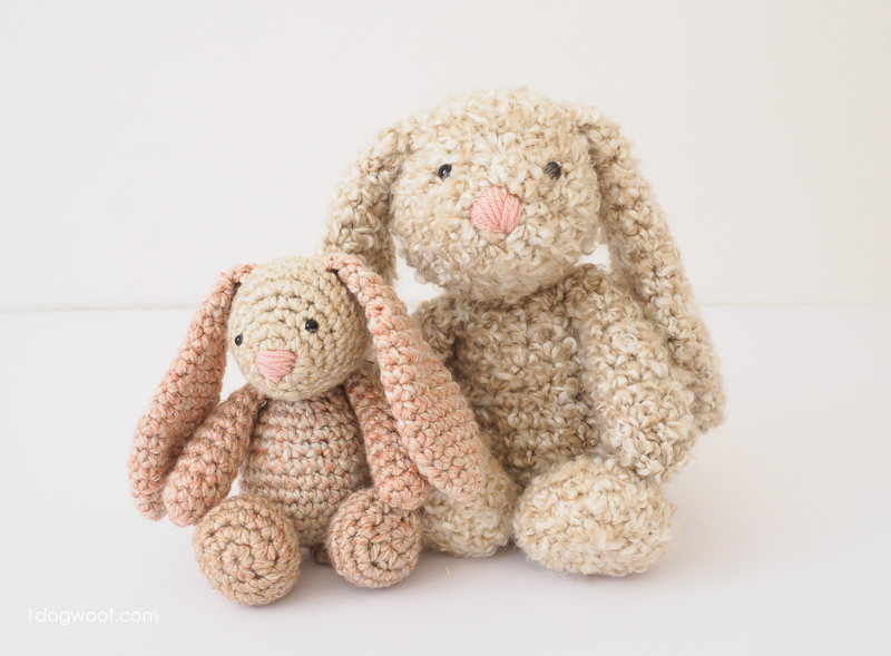 crochet bunny pattern stuffed easter bunny crochet pattern PNKKPEO