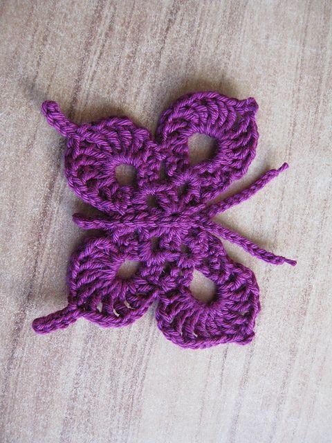 crochet butterfly pattern ravelry: crochet swallow-tailed butterflies free pattern by megan mills KUNRLCQ
