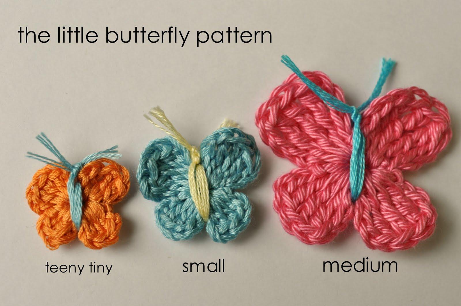 crochet butterfly pattern teeny tiny butterfly crochet pattern RUEZXKK
