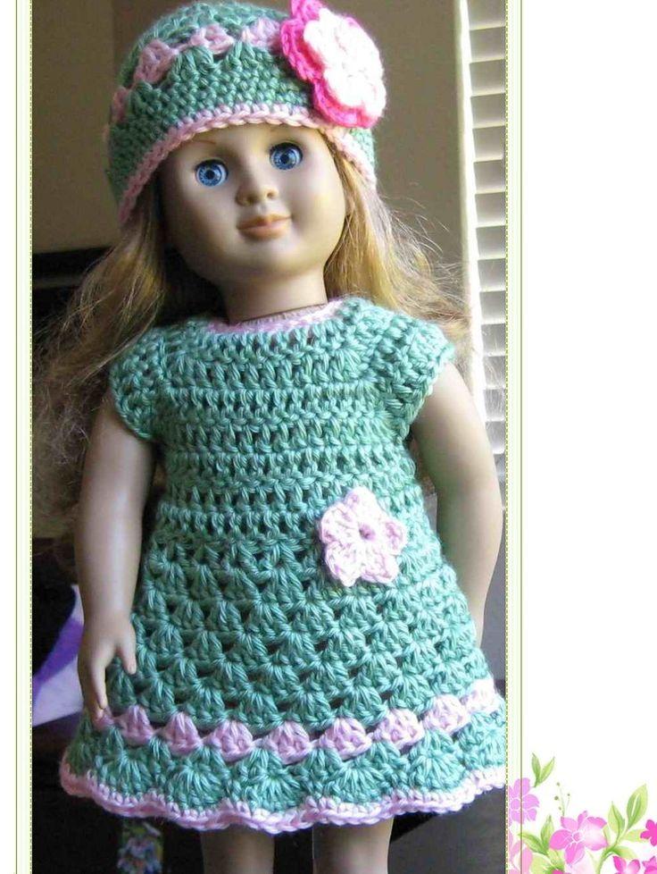 crochet doll clothes crochet patterns: barbie doll clothing - free crochet patterns TOJKSIR