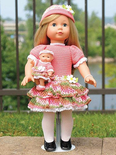 crochet doll clothes spring u0026 blossom crochet pattern EELTGTK