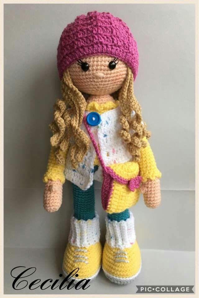 crochet doll patterns 83593cb07958d9802b2fc6bbad515a83.jpg (640×960). amigurumi dollcrochet  dollsdoll patternscus ... KHQUNCO
