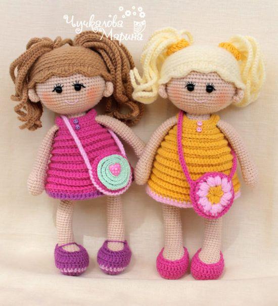 Amigurumi doll - Salvabrani | Amigurumi doll, Crochet dolls ... | 606x550