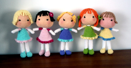 crochet doll patterns crochet dolls free patterns KFMESLZ