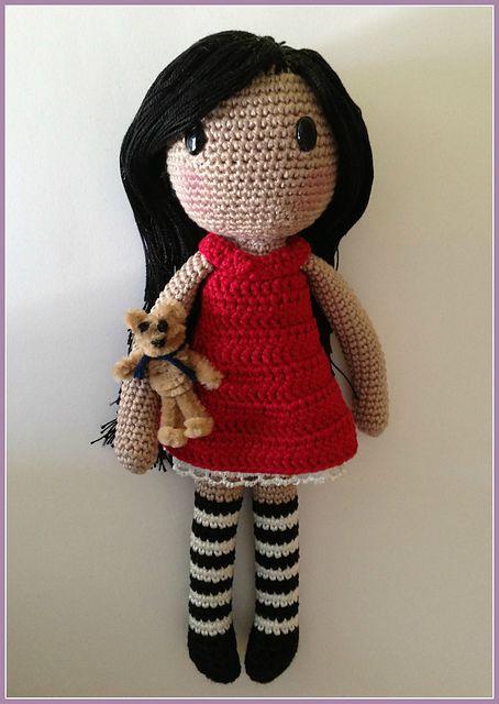 crochet doll patterns ravelry: gorjuss amigurumi free pattern by ana artedetei. SUZJSPO