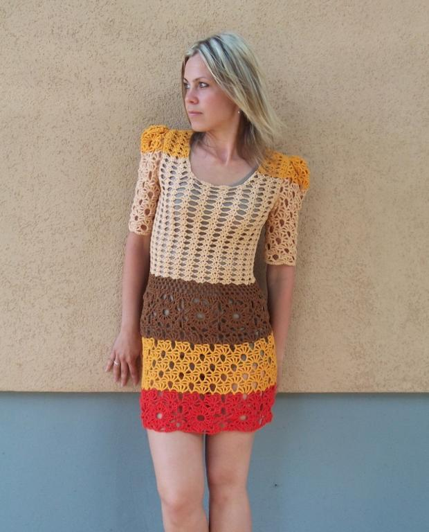 crochet dress pattern cinnamon dress crochet pattern CHHPIEH