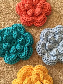 crochet flower pattern flower for may 2016 - free crochet pattern by ali crafts designs. ☂ᙓᖇᗴᔕᗩ ᖇᙓᔕ XSNSXEO
