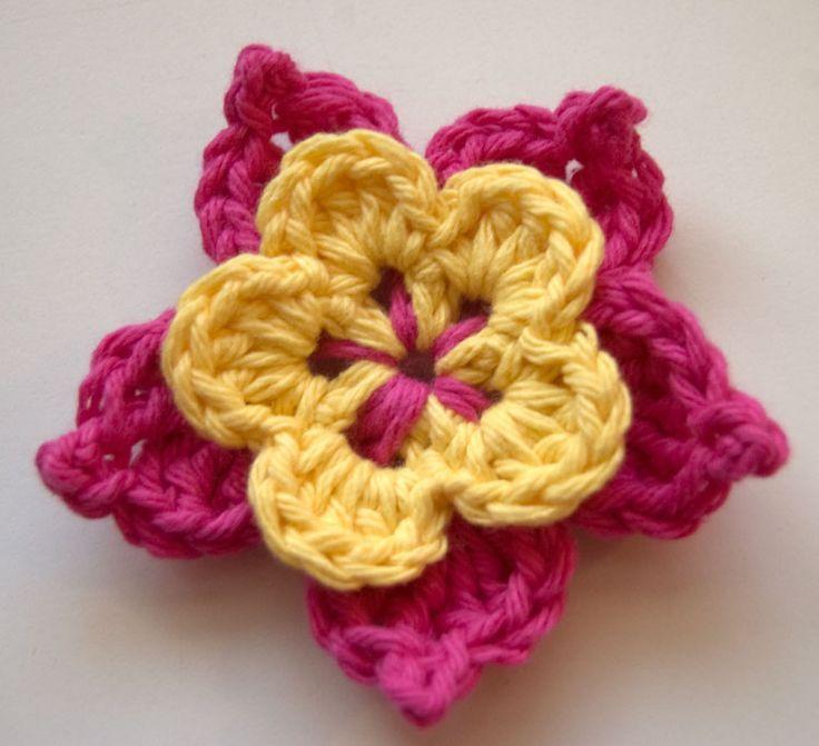 crochet flowers pattern picot-flower 10 beautiful (and free) crochet flower patterns BBWKVXT