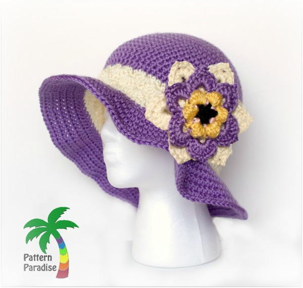 crochet hat learn how to crochet a hat for summer! even on the hottest days, youu0027ll BSPGBBX