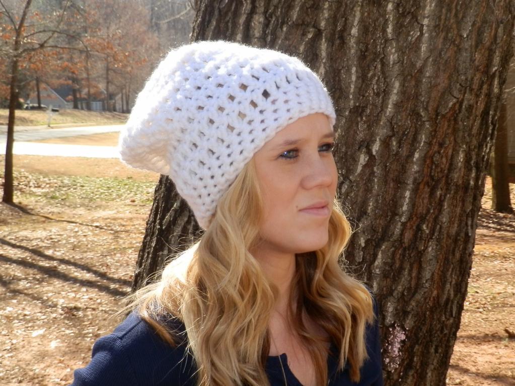 crochet hat patterns easy peasy slouch hat free crochet pattern UEIVDHA