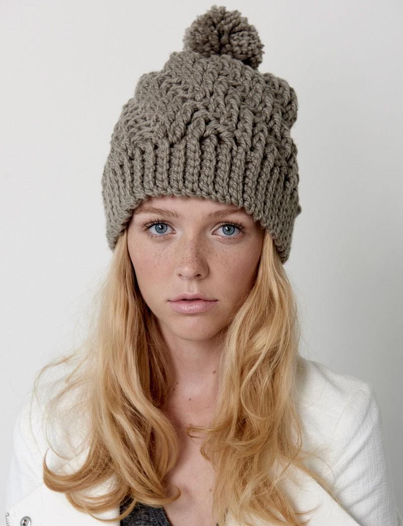 crochet hat stepping texture hat SLPRLIQ