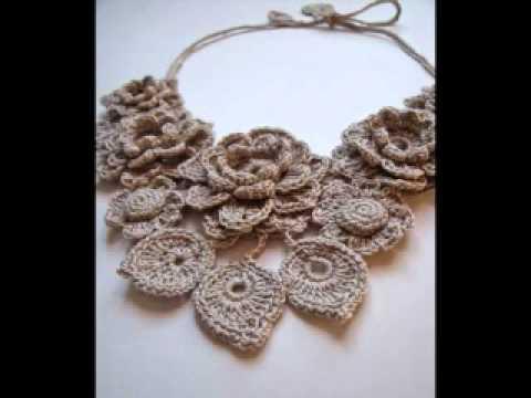 crochet jewelry by fibreromance JZGHRBN