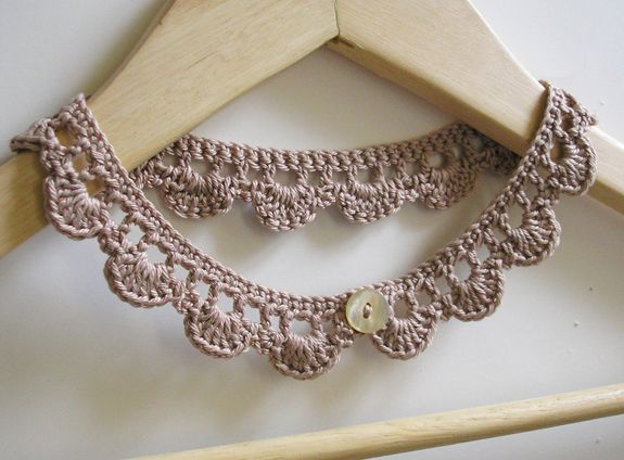 crochet jewelry patterns crochet_necklace_making_spot free pattern, thanks so for share xox  https://www. crochet jewelry patternscrochet necklace ... GVQIKRD