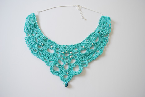 crochet jewelry patterns crochet necklace pattern ETIMDLU