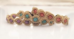 crochet jewelry patterns crochet pattern - friendship bracelet, crochet bracelet pattern - pdf  instant download XRGKPTG