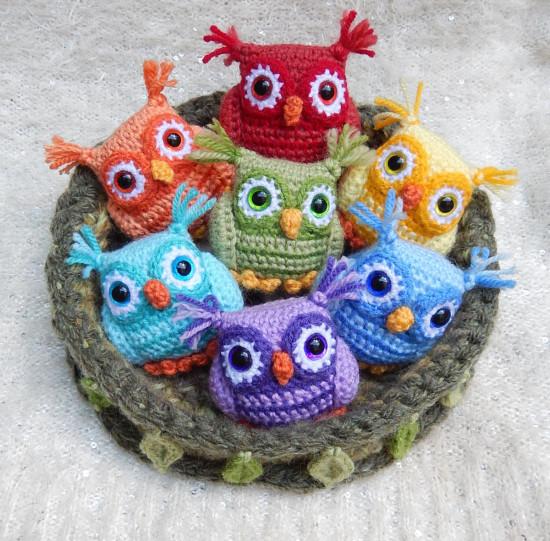 crochet owl pattern crochet baby owls pattern WWXSYFI