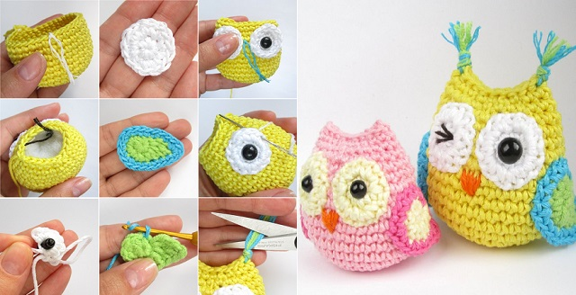 Amigurumi Crochet Owl Free Patterns Instructions | 328x640