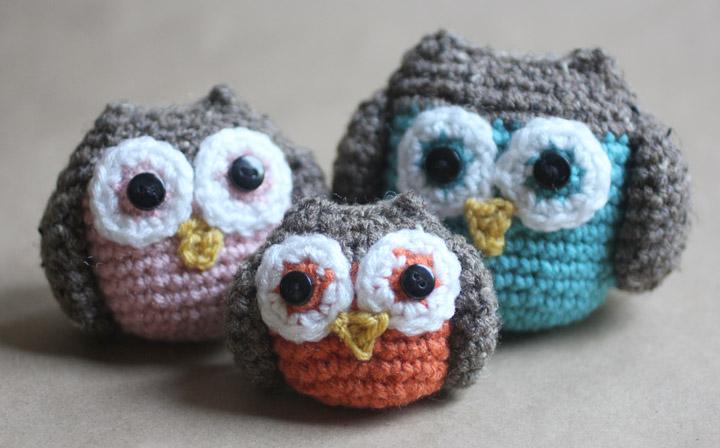 crochet owl pattern crochet owl family amigurumi pattern KLDIFDH