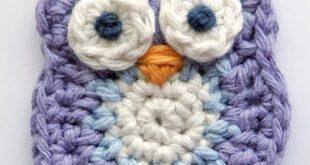 crochet owl pattern cute crochet little owl. más FLNKIFC