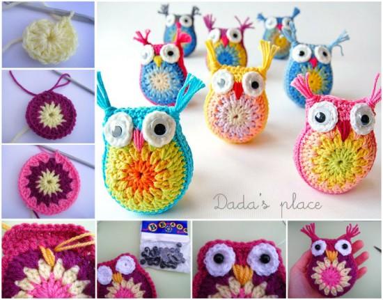 crochet owl pattern diy crocheted owls free patterns4 WUOIFDI