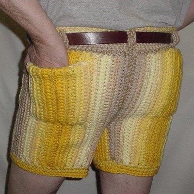 crochet pants men in crocheted pants | crochet by darleen hopkins XRHVPRS