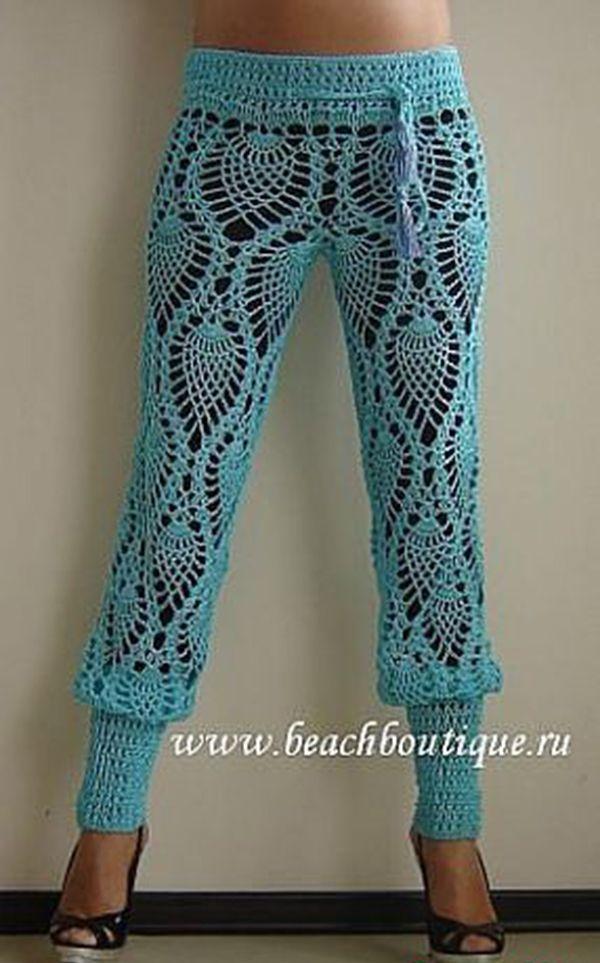 crochet pants roundup of beautiful #crochet trouser pants from crochet_stuff QJLULZK