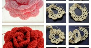 crochet rose pattern crochet rose free pattern BHYEYGI