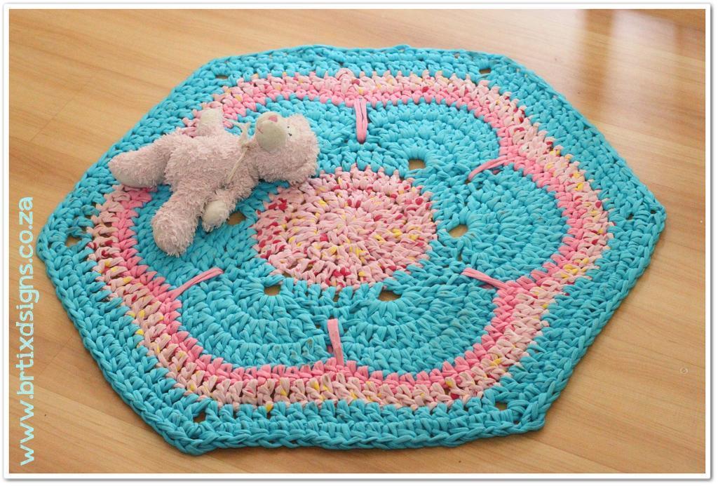 crochet rug patterns african flower t-rug crochet pattern DEFDVSR
