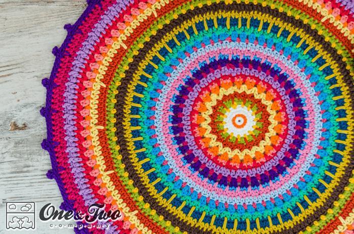 crochet rug patterns colorful crochet rug pattern QVPNYVK