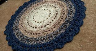 crochet rug patterns crochet rug....free pattern! // love this one! EBVQFVC