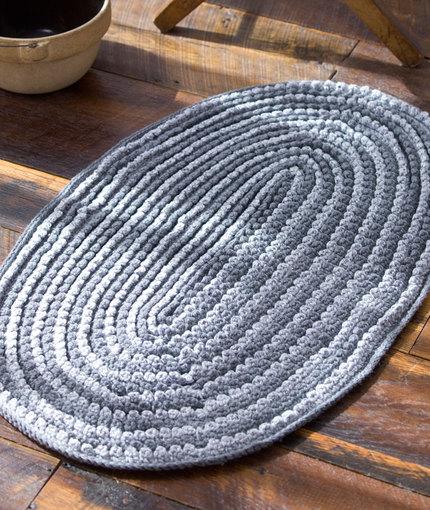 crochet rug patterns crochet rug pattern with fabric strips UHDDWJD