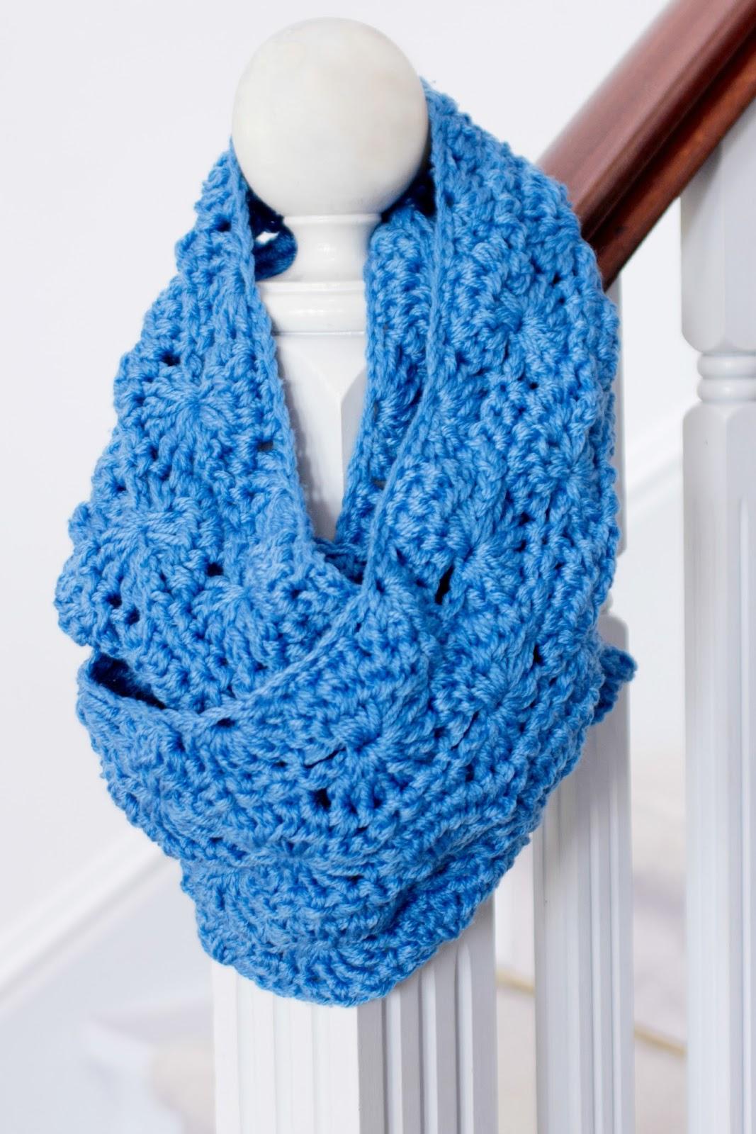 crochet scarf pretty chunky crochet infinity scarf GCPKSZL