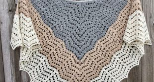 crochet shawl ...hes in the apexes of chevrons instead of 1 ch. made a EVGCXBA