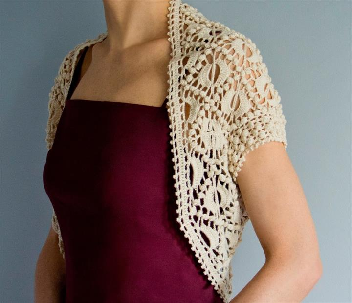 crochet shrug pattern favorite pattern crochet shrug: JCSQYHF