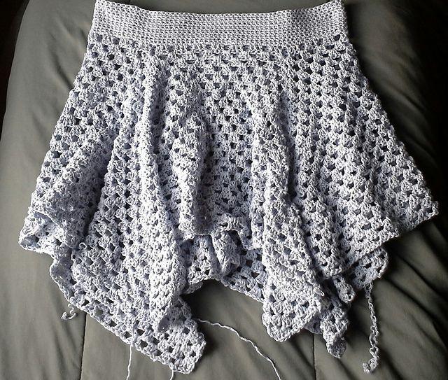 crochet skirt #crochet granny skirt free pattern by high strung designs MZOQLNE