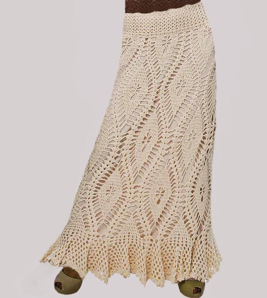 crochet skirt pattern ... KTVUZCI