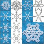 What are the crochet snowflake pattern?