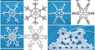 crochet snowflake pattern how to crochet snowflakes pattern step by step diy tutorial instructions,  how to, how ZENLFOW