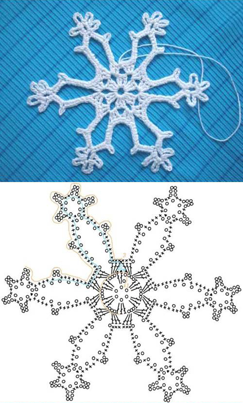 crochet snowflake pattern view in gallery crochet-snowflake-pattern-00-05 SOMZNMF